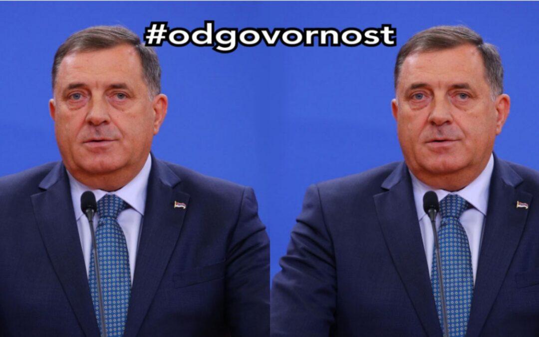 Milorad Dodik zapošljava dvojnika koji će ići na sjednice Predsjedništva BiH #odgovornost