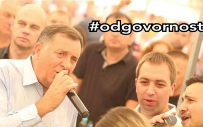 Predsjedništvo BiH odlučilo da na prijemima zvanica, od sada, pjeva Milorad Dodik #odgovornost