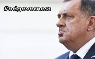 Dodik došao u Predsjedništvo da vidi što mu nije uplaćen topli obrok za juli #odgovornost