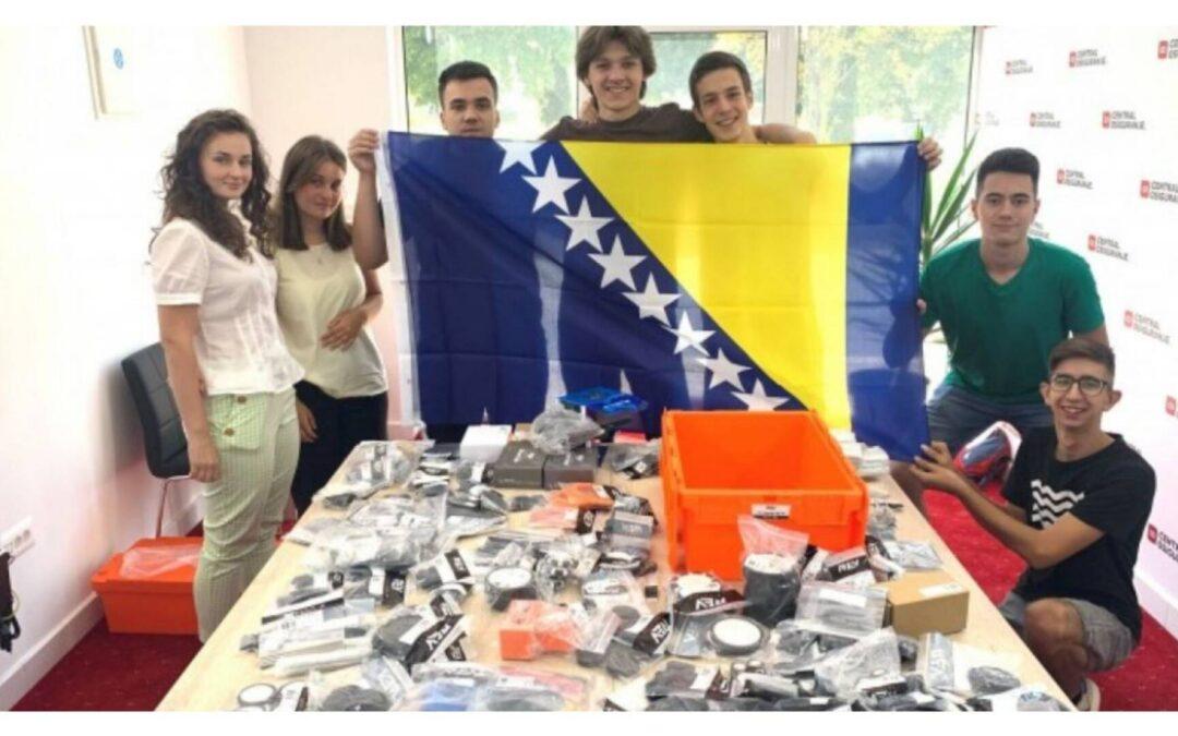 Od 177 zemalja, tim iz BiH zauzeo prvo mjestu na takmičenju iz robotike!