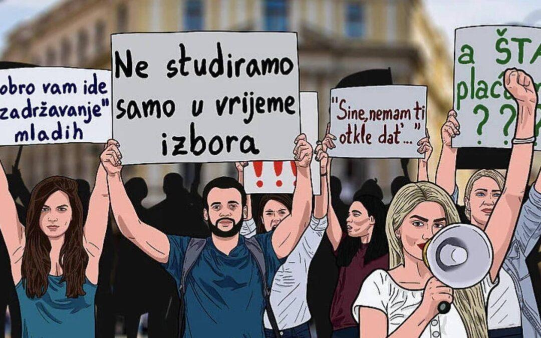Sarajevski studenti nezadovoljni radom SPUS-a i uslovima studiranja najavili proteste