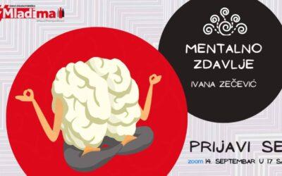 PRIJAVI SE na webinar i nauči više o sebi i svom mentalnom zdravlju